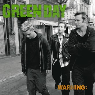 Warning (Green Day album) - Image: Green Day Warning cover