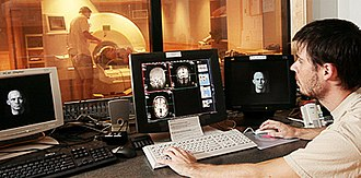 Princeton University Department of Psychology - fMRI scanner in the basement of Green Hall