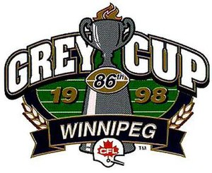 86th Grey Cup - Image: Grey Cup 98