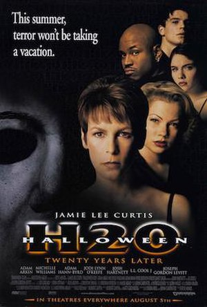 Halloween H20: 20 Years Later - Theatrical release poster