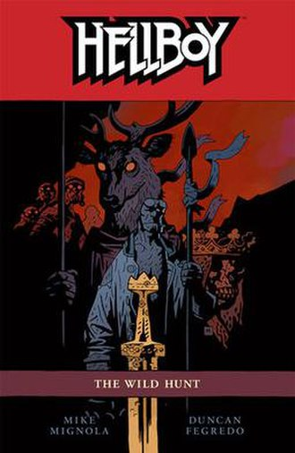 Hellboy: The Wild Hunt - Trade Paperback Cover