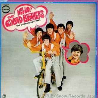 Hello! The Osmond Brothers - Image: Helloosbros