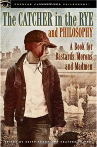 Holden Caulfield - An interpretation of Holden Caulfield on the cover of the 2012 book The Catcher in the Rye and Philosophy by Heather Salter and Keith Dromm.