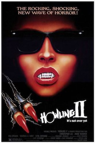 Howling II: Your Sister Is a Werewolf - Theatrical release poster