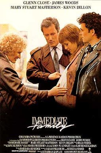 Immediate Family (film) - Theatrical release poster