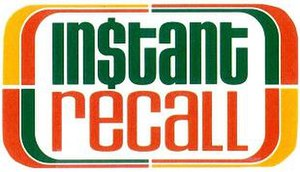 Instant Recall - Image: Instant Recall (logo)