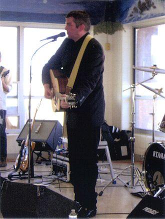 James Kilbane - James Kilbane sings for prisoners and staff at Grafton Prison. March 2012