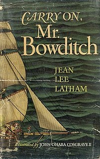 <i>Carry On, Mr. Bowditch</i> book by Jean Lee Latham