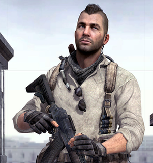 Soap MacTavish Fictional character in the Call of Duty series