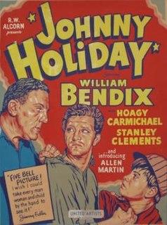 <i>Johnny Holiday</i> (film) 1950 film by Willis Goldbeck