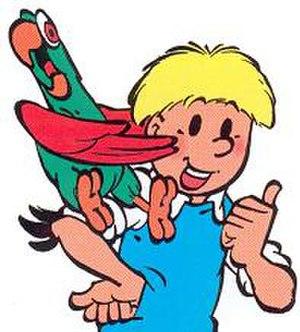Jommeke - Jommeke and his parrot Flip