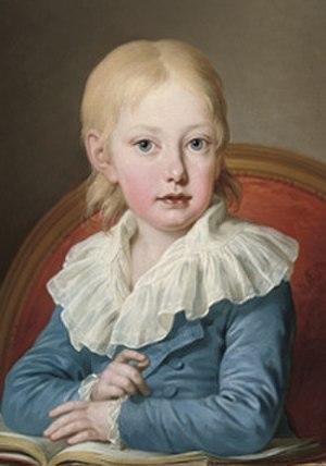 Archduke Joseph Franz of Austria - Portrait, ca. 1806/7