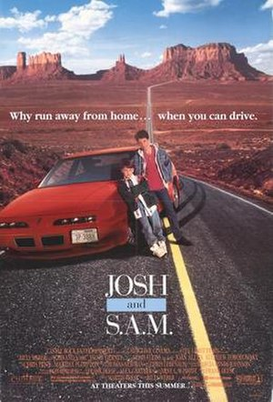 Josh and S.A.M. - Theatrical release poster