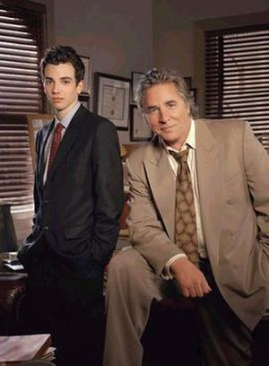 Just Legal - Jay Baruchel as Skip Ross and Don Johnson as Grant Cooper