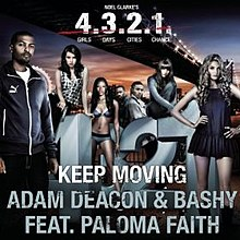 "Keep Moving (single from ""4.3.2.1"" movie soundrack - cover art).jpg"
