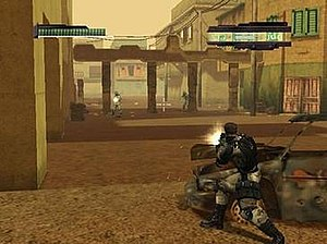 Cover system - The 'Offensive Cover System' (OCS) in Kill.Switch (2003) was one of the foundations for modern cover systems in third-person shooter video games.