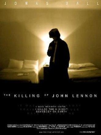 The Killing of John Lennon - Theatrical release poster