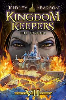 The Kingdom Keepers series of novels written by Ridley Pearson