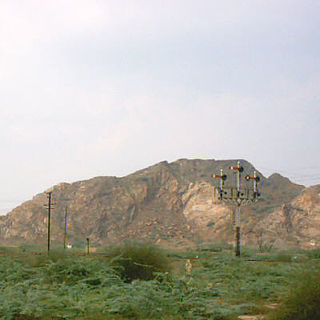 hilly area named after the Kirana Hills