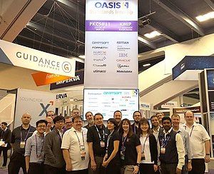Key Management Interoperability Protocol - Participants in the OASIS 2017 interop at the 2017 RSA conference.