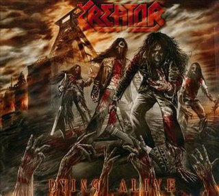 <i>Dying Alive</i> 2013 live album by Kreator