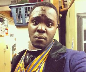 Kyle Jean-Baptiste - Jean-Baptiste in costume as Courfeyrac from Les Misérables in June 2015