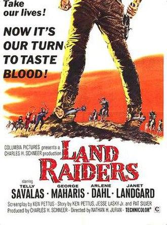 Land Raiders (film) - Original film poster