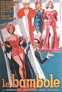 <i>Le bambole</i> 1964 film by Mauro Bolognini, Luigi Comencini, Dino Risi, Franco Rossi