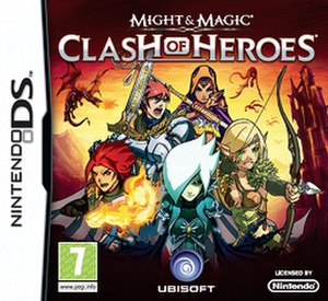 Might & Magic: Clash of Heroes - Box cover