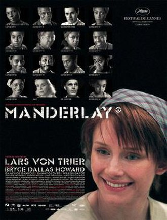 Manderlay - Theatrical release poster