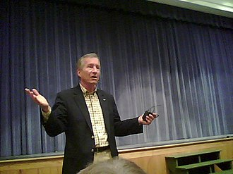Jim Marshall (Georgia politician) - Rep. Marshall at a 14 November 2009 townhall meeting in Covington, Georgia.