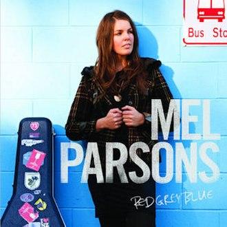 Mel Parsons - Image: Mel Parsons Red Grey Blue