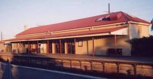 Melton railway station, Melbourne - Platform 1 station building