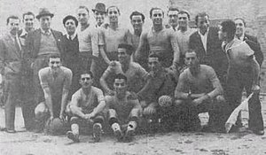 A.C.R. Messina - Messina's last squad of the 1930s, while Lombardo was president.