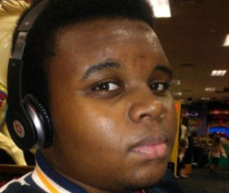Shooting of Michael Brown - Brown in a photo posted to Facebook in May 2013