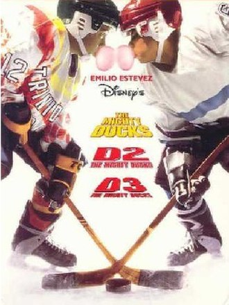 The Mighty Ducks (film series) - The Mighty Ducks 3-Pack DVD cover