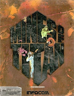 <i>Mines of Titan</i> 1989 video game