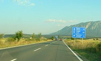 European route E79 - E79 in Bulgaria (non-motorway stretch)