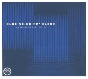 Blue Skied an' Clear - Image: Morr Music Blue Skied cover