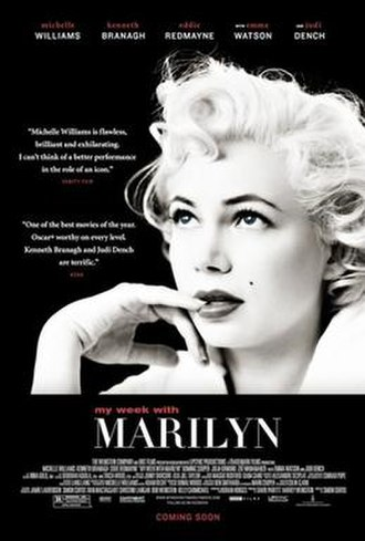 My Week with Marilyn - Theatrical release poster