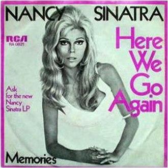 Here We Go Again (Ray Charles song) - Image: N Sinatra Herewegoagain