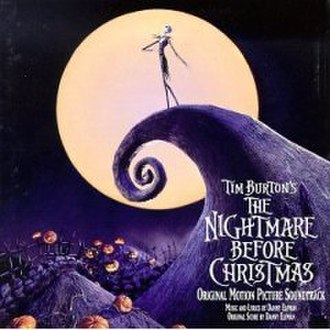 The Nightmare Before Christmas (soundtrack) - Image: Nightmare Soundtrack