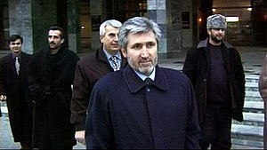 Khozh-Ahmed Noukhayev - Khozh-Ahmed Noukhayev in Moscow