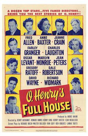 O. Henry's Full House - Theatrical film poster