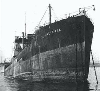 Italian auxiliary ship Olterra - Image: Olterra at Algeciras