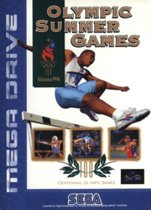 Olympic Summer Games (video game) - Image: Olympic Summer Games Coverart