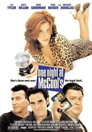 One Night at McCool's - Theatrical release poster