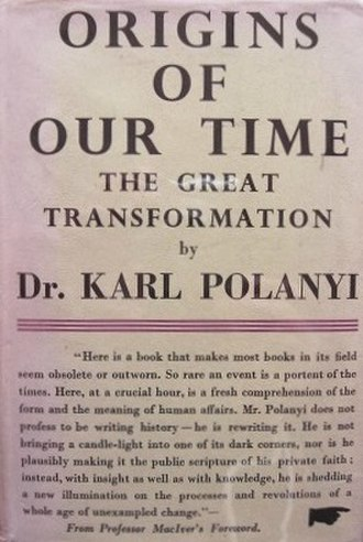 The Great Transformation (book) - First UK edition (publ. Victor Gollancz, 1945)