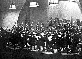 Buenos Aires Philharmonic - The Buenos Aires Philharmonic performing during their first season (1947) in Mar del Plata