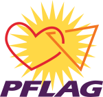 Parents, Families and Friends of Lesbians and Gays logo